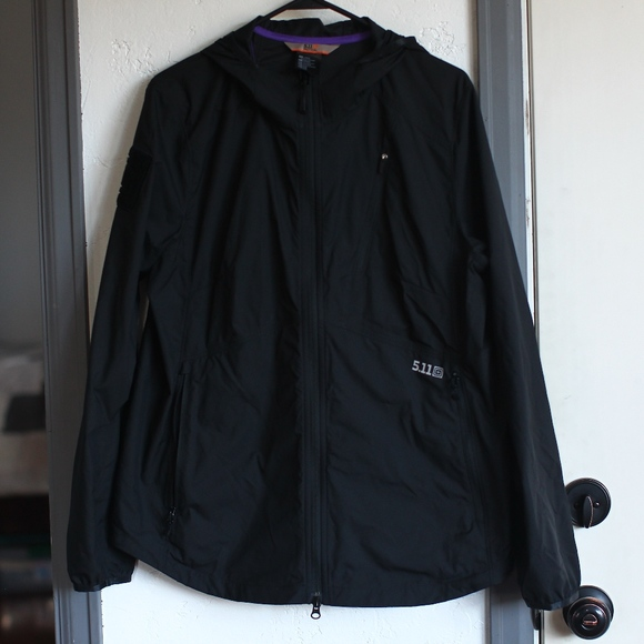 511 Tactical Jackets Coats Nwot 511 Black Wind Breaker Jacket